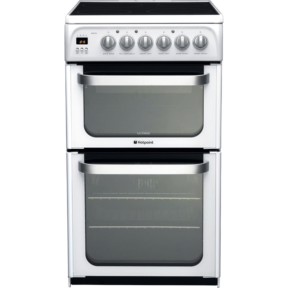 Hotpoint Double Cooker HUE53P S : discover the specifications of our home appliances and bring the innovation into your house and family.