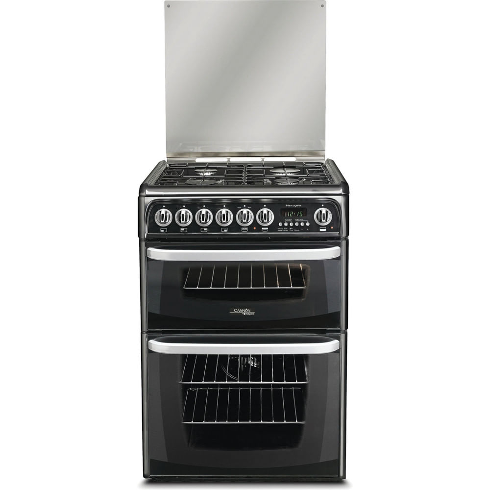 Hotpoint Double Cooker CH60DHKF S : discover the specifications of our home appliances and bring the innovation into your house and family.