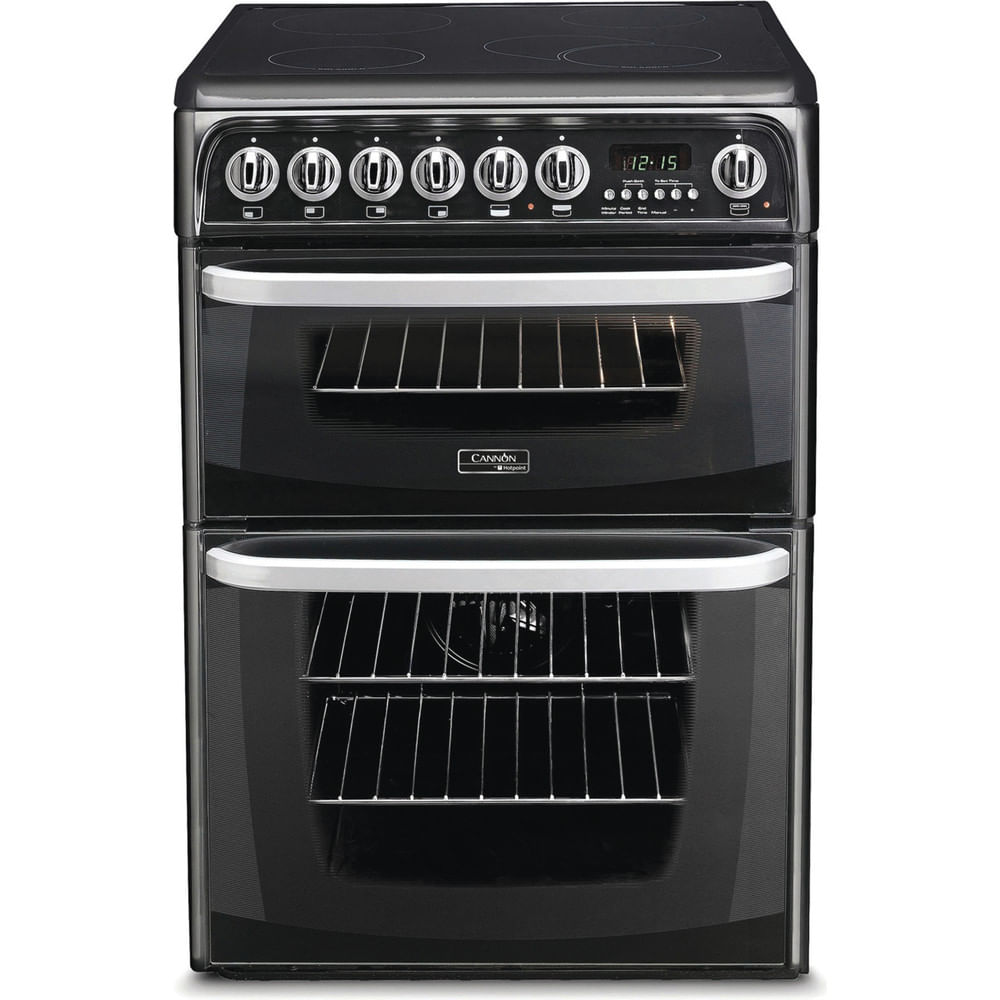 Hotpoint Double Cooker CH60EKK S : discover the specifications of our home appliances and bring the innovation into your house and family.