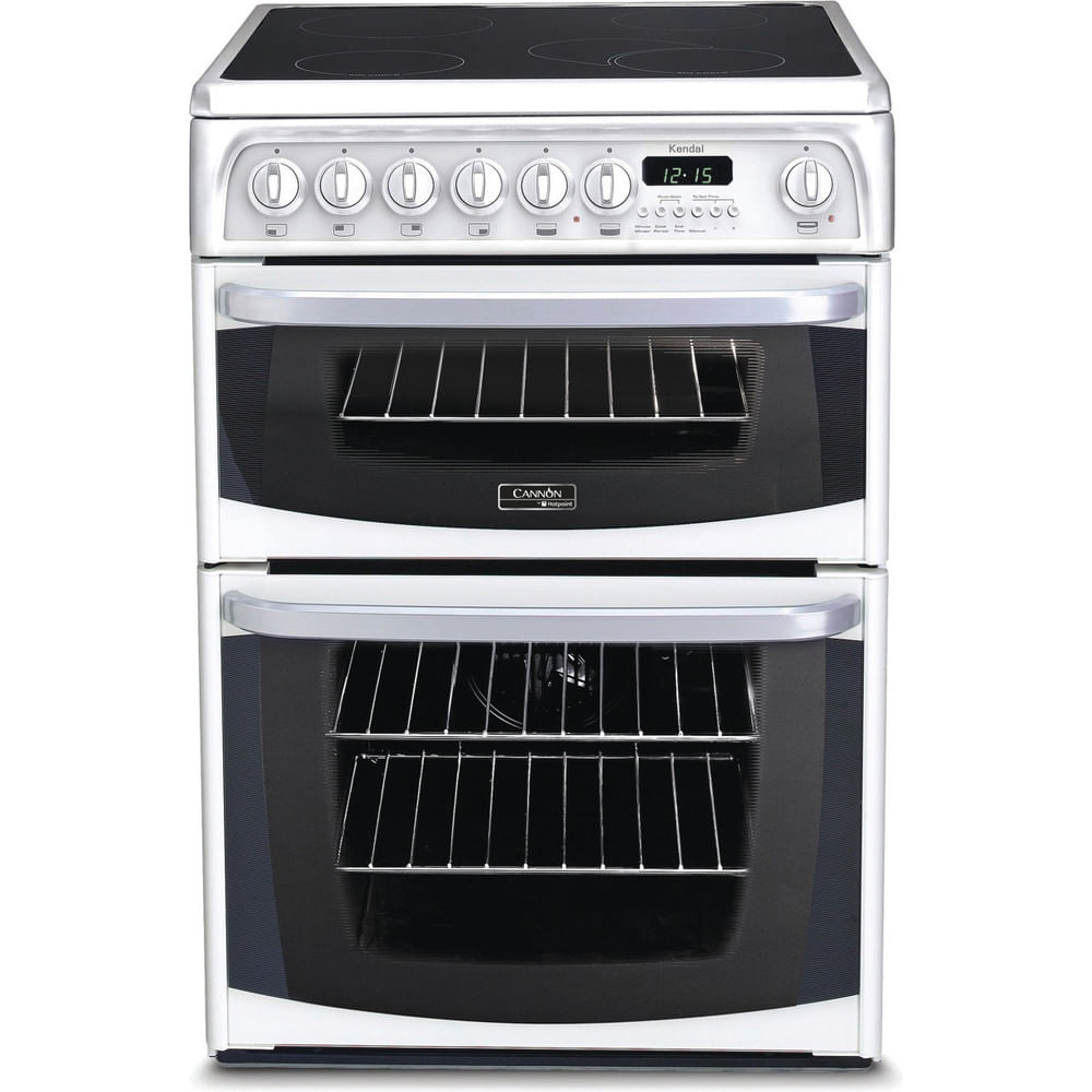 Hotpoint Double Cooker CH60EKW S : discover the specifications of our home appliances and bring the innovation into your house and family.