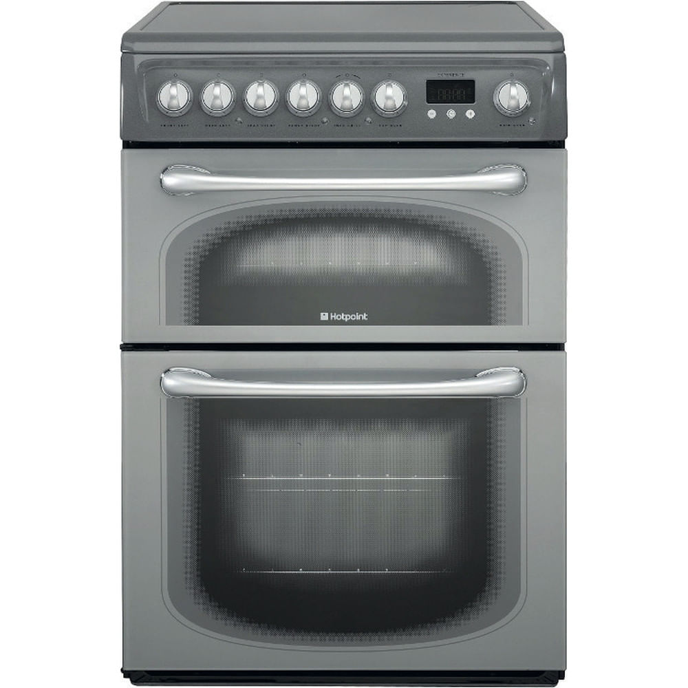 Hotpoint Double Cooker 60HEG S : discover the specifications of our home appliances and bring the innovation into your house and family.