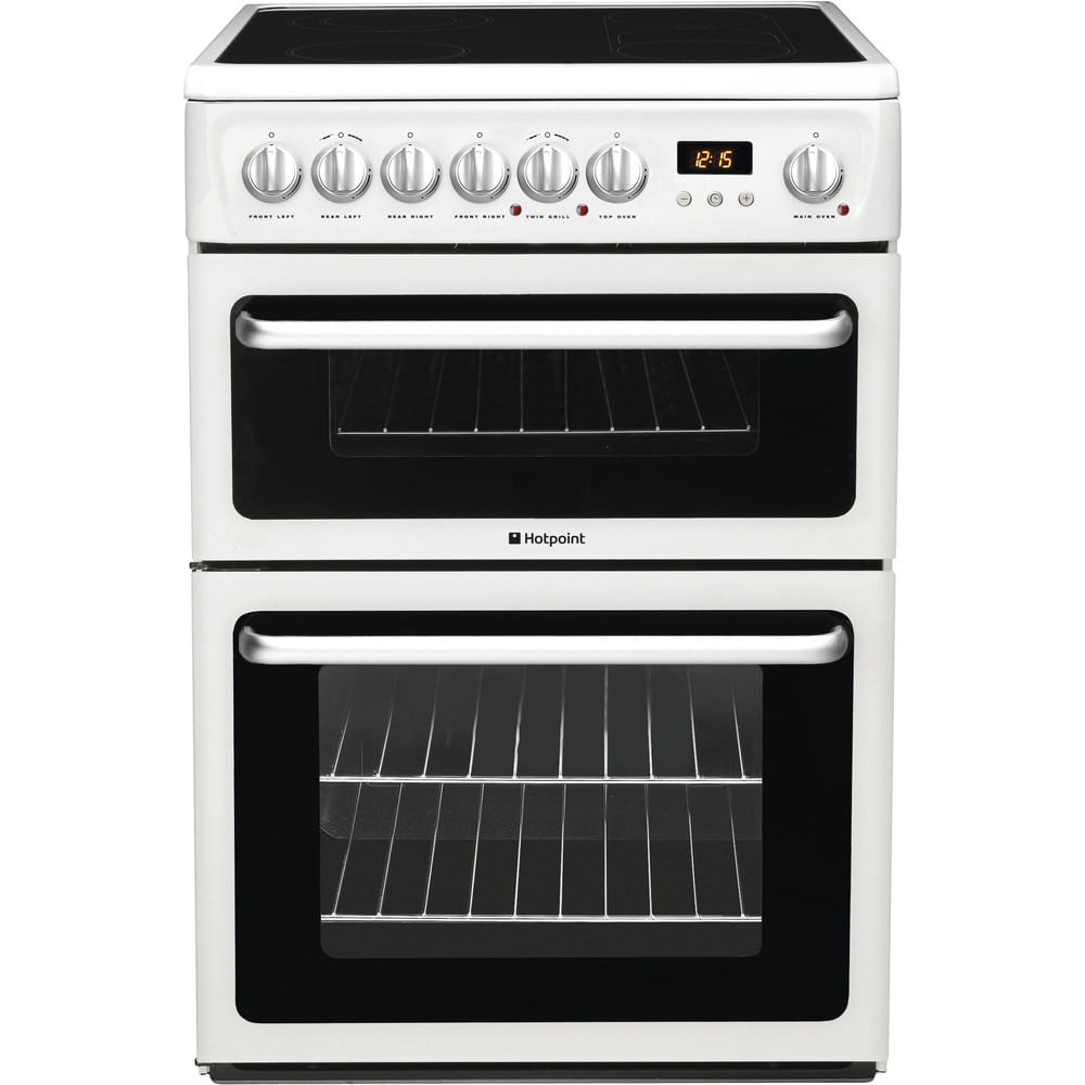 Hotpoint Double Cooker HARE60P : discover the specifications of our home appliances and bring the innovation into your house and family.