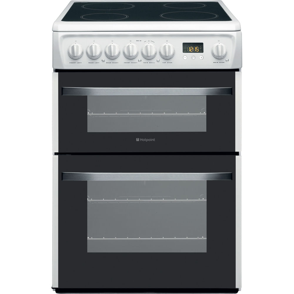 Hotpoint Double Cooker DSC60P : discover the specifications of our home appliances and bring the innovation into your house and family.