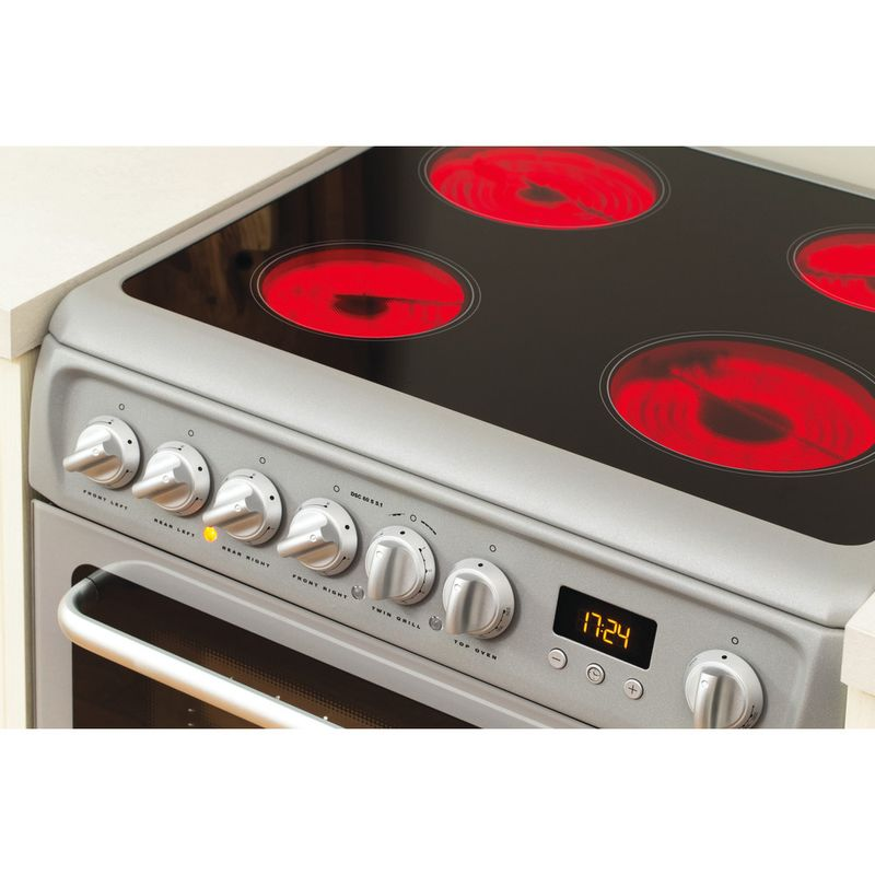 Hotpoint-Double-Cooker-DSC60S-S.1-Silver-B-Vitroceramic-Lifestyle_Control_Panel