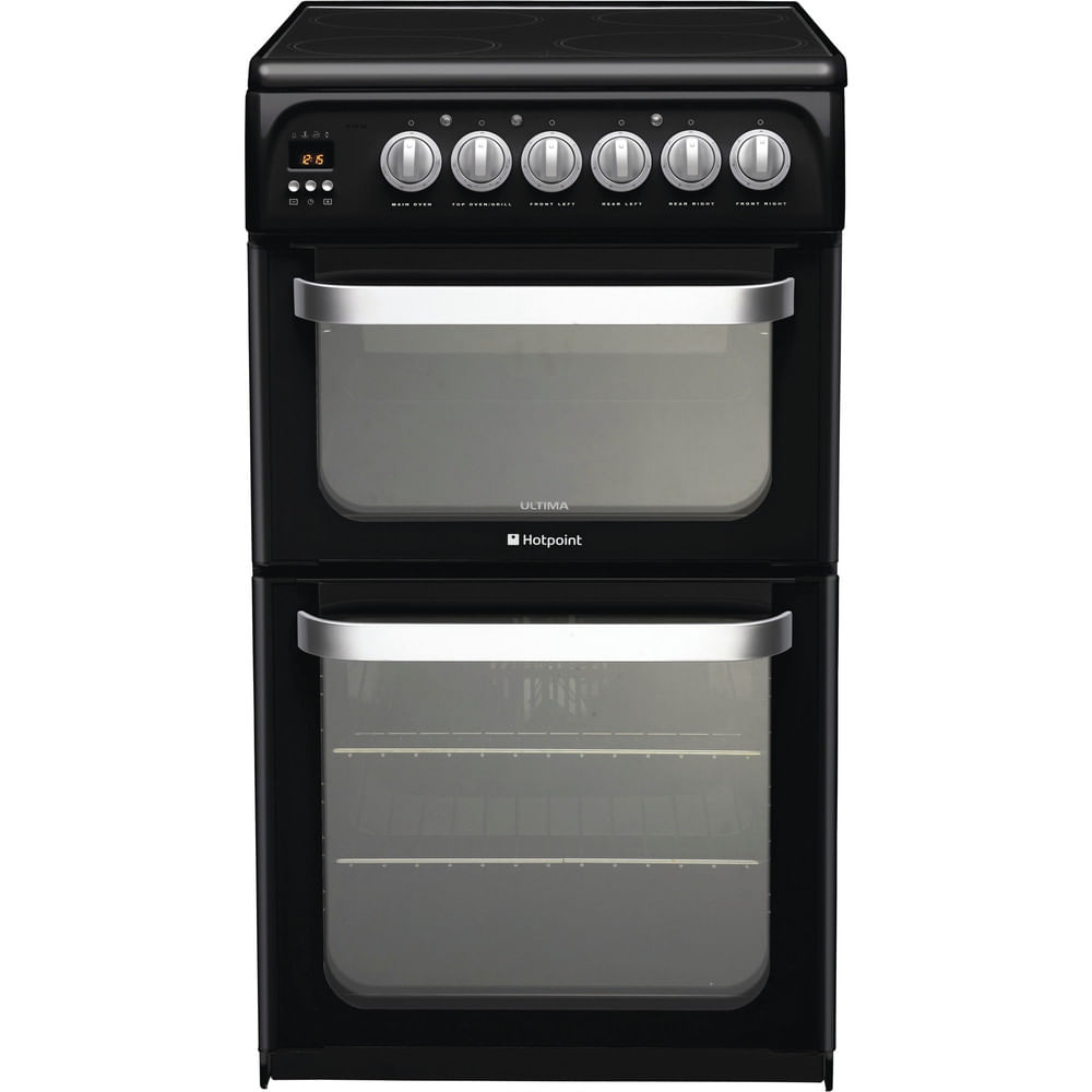 Hotpoint Double Cooker HUE52K S.0 : discover the specifications of our home appliances and bring the innovation into your house and family.