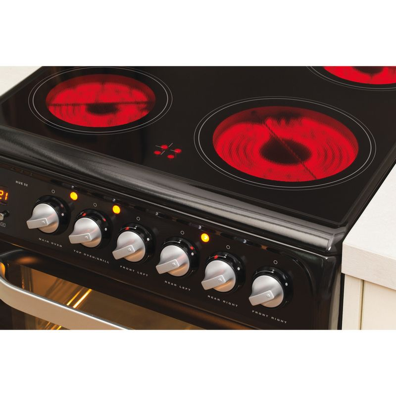 Hotpoint-Double-Cooker-HUE52K-S.0-Black-A-Vitroceramic-Lifestyle-control-panel