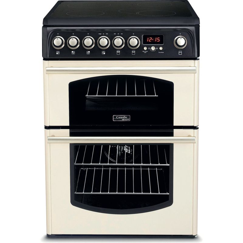 Hotpoint-Double-Cooker-CH60ETC.0-S-Charcoal-grey-B-Vitroceramic-Frontal