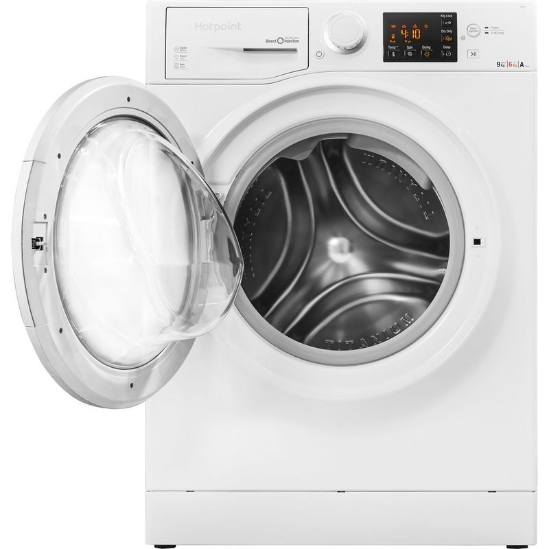 Hotpoint-Washer-dryer-Free-standing-RG-964-JD-UK-White-Front-loader-Frontal_Open