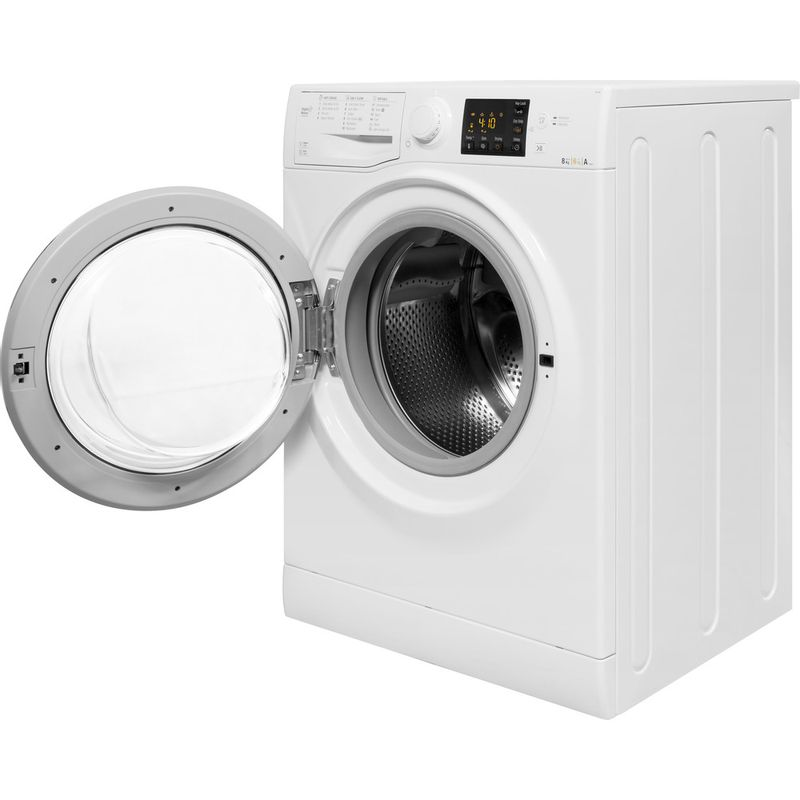 Hotpoint-Washer-dryer-Free-standing-RG-864-S-UK-White-Front-loader-Perspective_Open