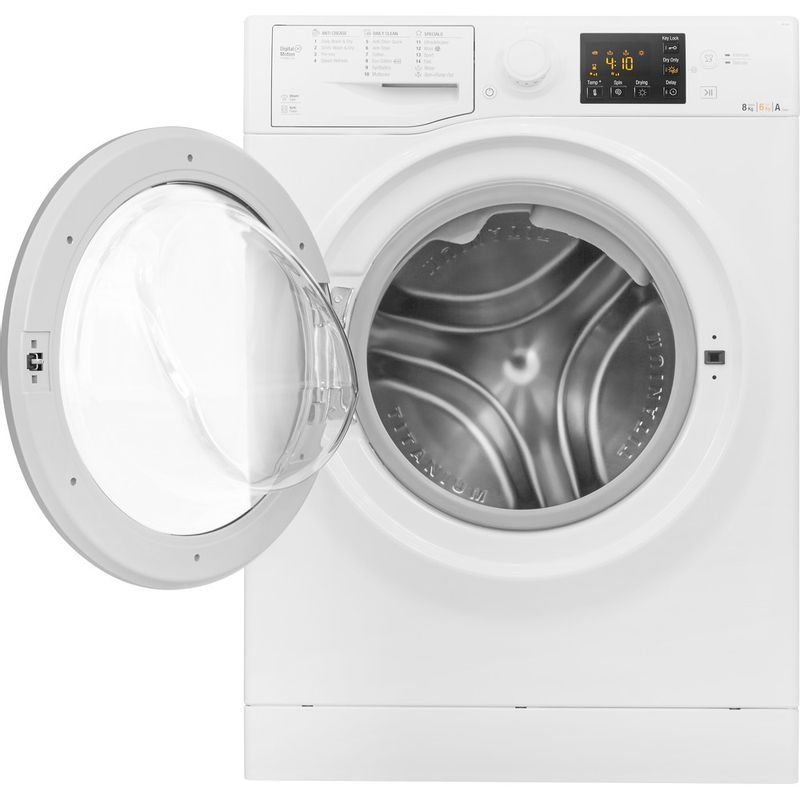 Hotpoint-Washer-dryer-Free-standing-RG-864-S-UK-White-Front-loader-Frontal_Open