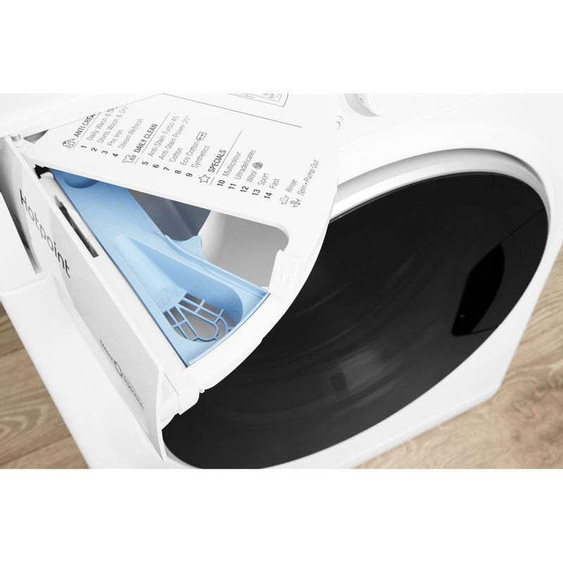 Hotpoint-Washer-dryer-Free-standing-RD-966-JD-UK-White-Front-loader-Drawer