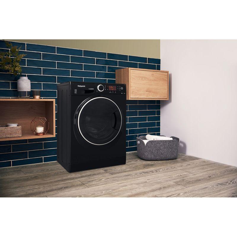 Hotpoint-Washer-dryer-Free-standing-RD-966-JKD-UK-Black-Front-loader-Lifestyle_Perspective