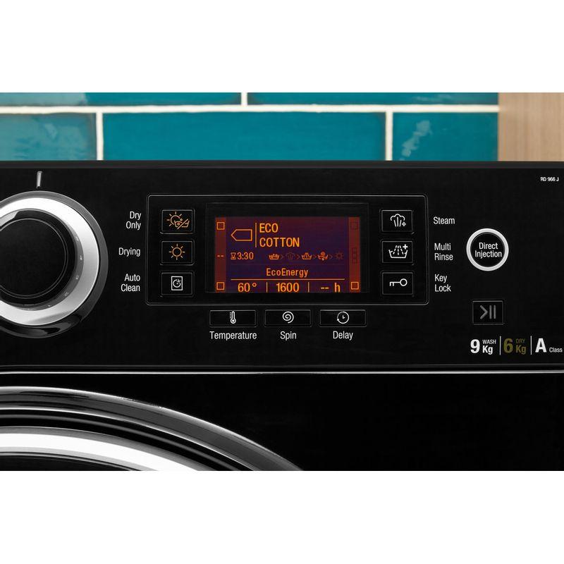 Hotpoint-Washer-dryer-Free-standing-RD-966-JKD-UK-Black-Front-loader-Lifestyle_Control_Panel