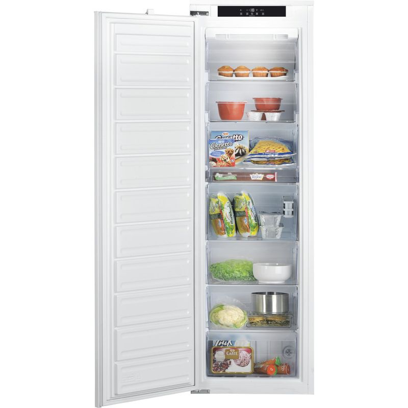 Hotpoint-Freezer-Built-in-HF-1801-E--F-AA.UK-White-Frontal-open