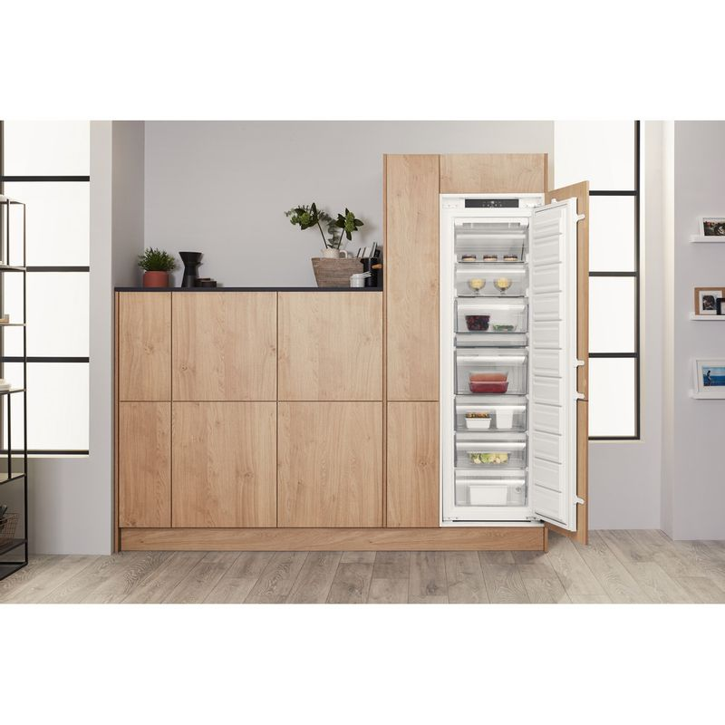 Hotpoint-Freezer-Built-in-HF-1801-E--F-AA.UK-White-Lifestyle-frontal-open
