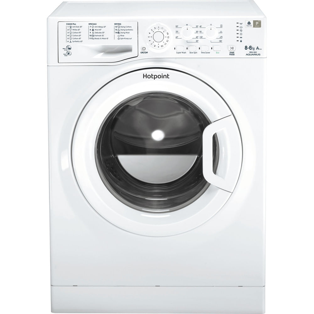 Hotpoint Freestanding Washer Dryer WDAL 8640P UK : discover the specifications of our home appliances and bring the innovation into your house and family.