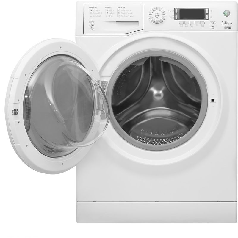 Hotpoint-Washer-dryer-Free-standing-WDXD-8640P-UK-White-Front-loader-Frontal-open