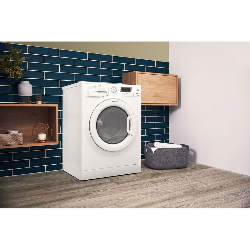 Hotpoint-Washer-dryer-Free-standing-WDXD-8640P-UK-White-Front-loader-Lifestyle-perspective