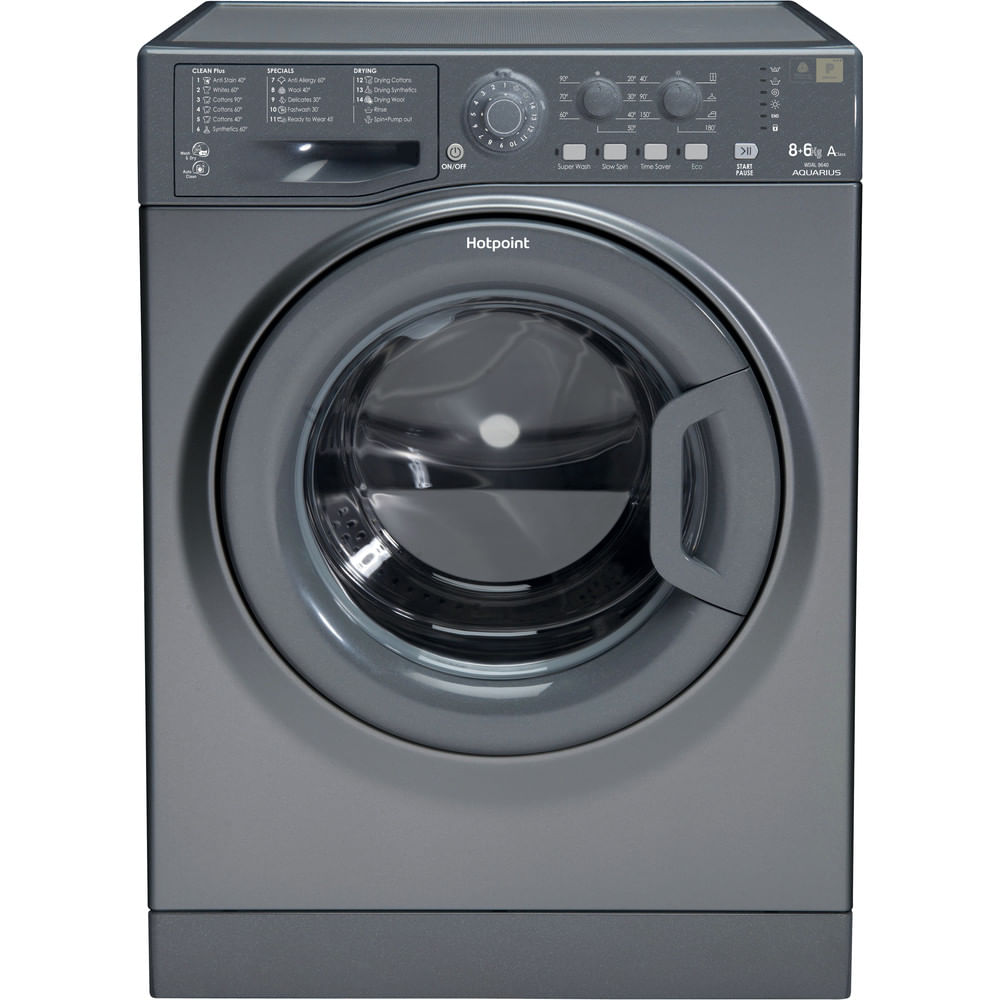 Hotpoint Freestanding Washer Dryer WDAL 8640G UK : discover the specifications of our home appliances and bring the innovation into your house and family.