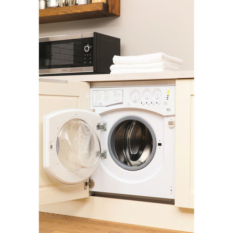 Hotpoint-Washer-dryer-Built-in-BHWD-129--UK--1-White-Front-loader-Lifestyle_Perspective_Open