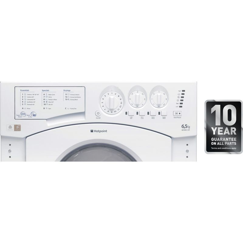 Hotpoint-Washer-dryer-Built-in-BHWD-129--UK--1-White-Front-loader-Control_Panel