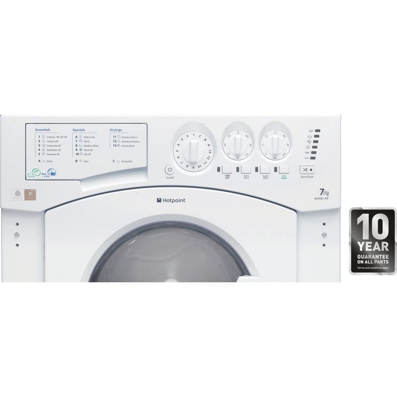 Hotpoint-Washer-dryer-Built-in-BHWD-149--UK--1-White-Front-loader-Award