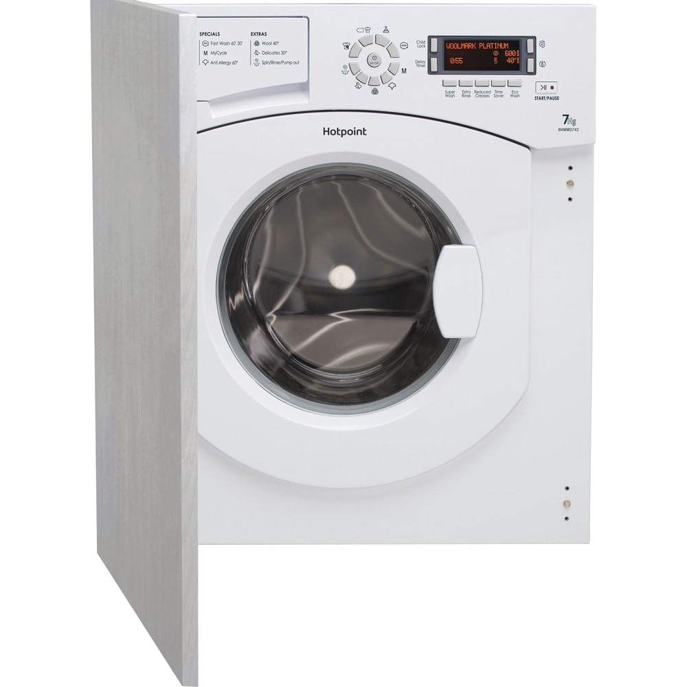 Hotpoint Integrated Washing Machine BHWMD 742 (UK) : discover the specifications of our home appliances and bring the innovation into your house and family.