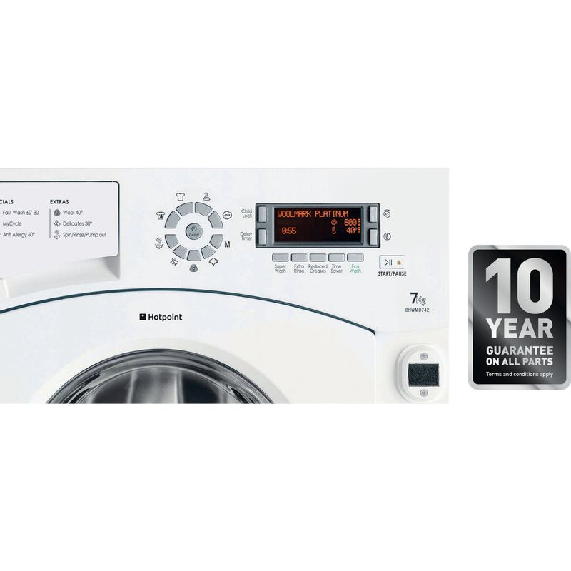 Hotpoint-Washing-machine-Built-in-BHWMD-742--UK--White-Front-loader-A---Control_Panel