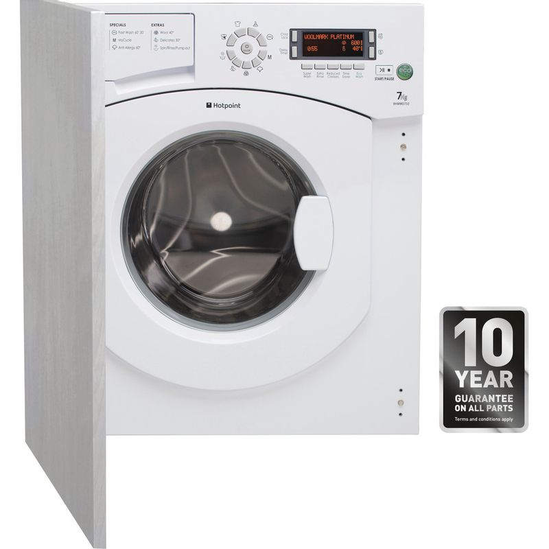 Hotpoint-Washing-machine-Built-in-BHWMD-732--UK--White-Front-loader-A---Frontal