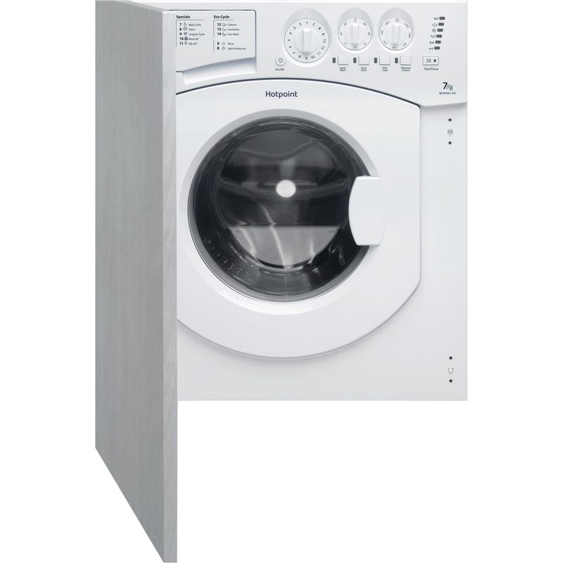 Hotpoint-Washing-machine-Built-in-BHWM-149--UK--2-White-Front-loader-A---Frontal