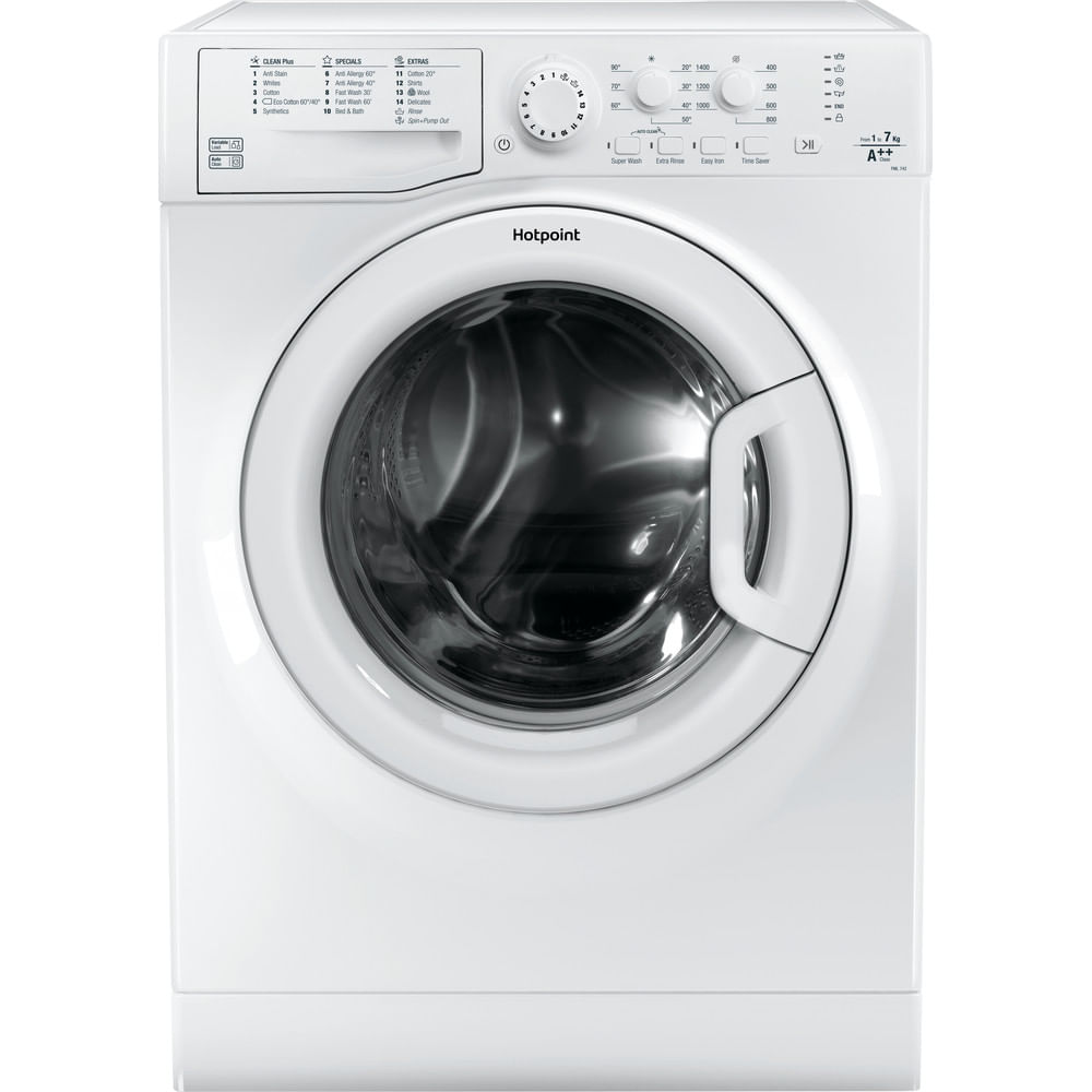 Hotpoint Freestanding Washing Machine FML 742P UK : discover the specifications of our home appliances and bring the innovation into your house and family.