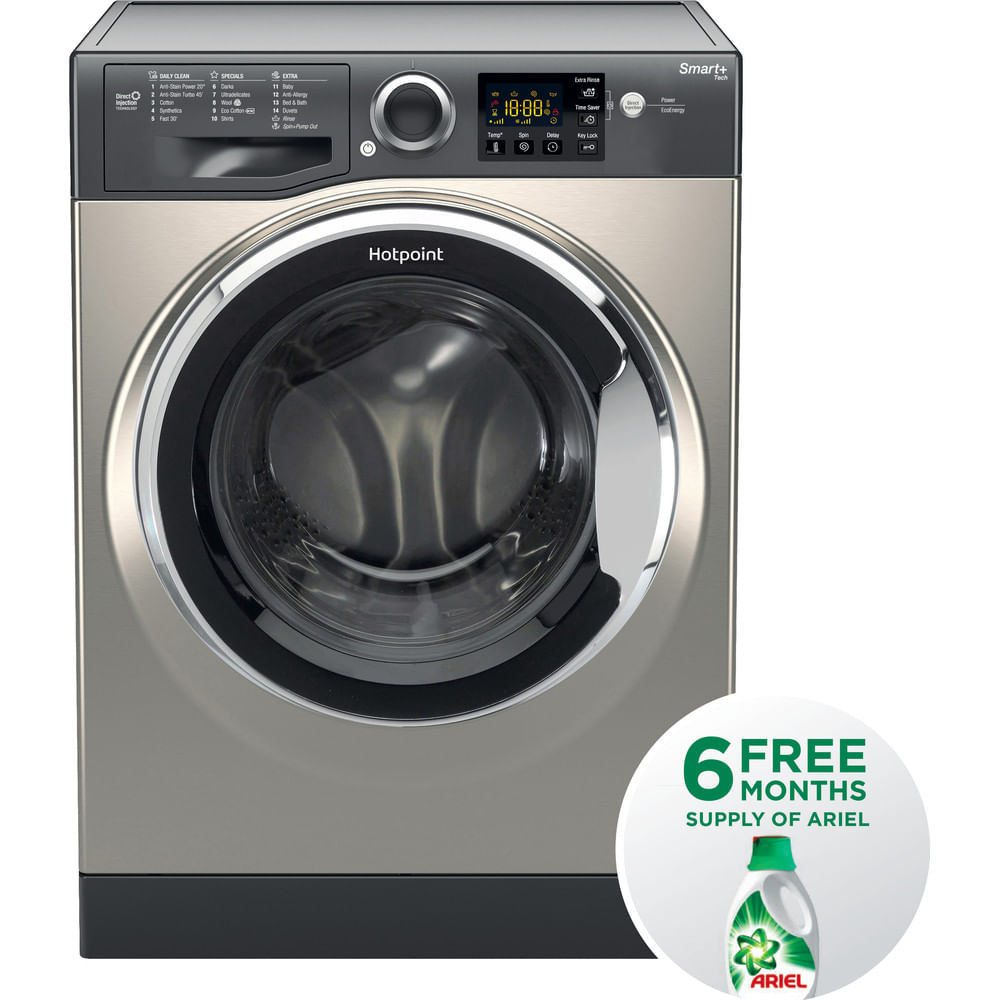 Hotpoint Freestanding Washing Machine RSG 845 JGX UK : discover the specifications of our home appliances and bring the innovation into your house and family.