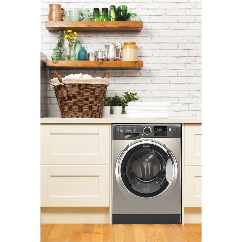 Hotpoint-Washing-machine-Free-standing-RSG-845-JGX-UK-Graphite-Front-loader-A----Lifestyle_Frontal