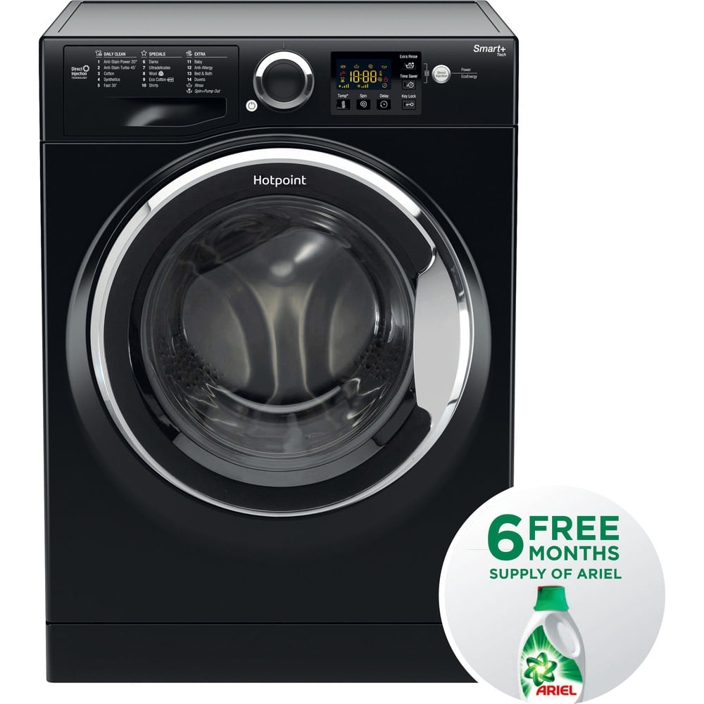 Hotpoint Freestanding Washing Machine RSG 845 JKX UK : discover the specifications of our home appliances and bring the innovation into your house and family.