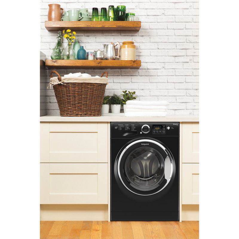 Hotpoint-Washing-machine-Free-standing-RSG-845-JKX-UK-Black-Front-loader-A----Lifestyle_Frontal