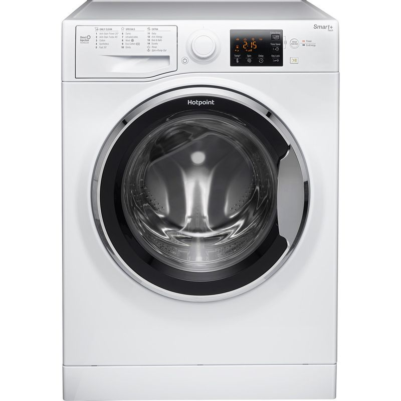 Hotpoint-Washing-machine-Free-standing-RSG-964-JX-UK-White-Front-loader-A----Frontal