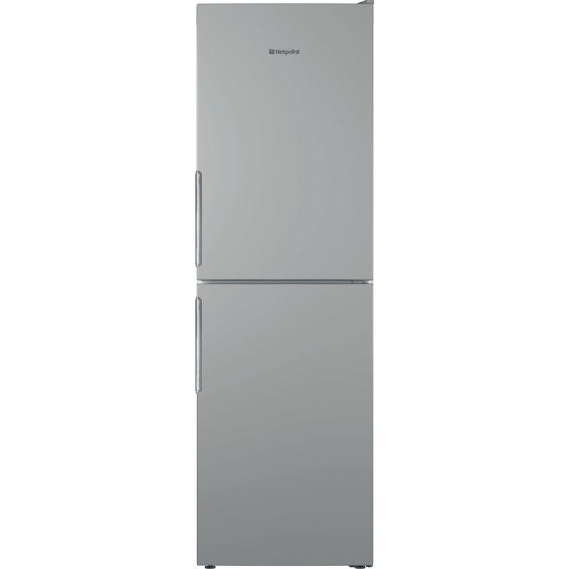 Hotpoint-Fridge-Freezer-Free-standing-LAO85-FF1I-G-UK-Graphite-2-doors-Frontal