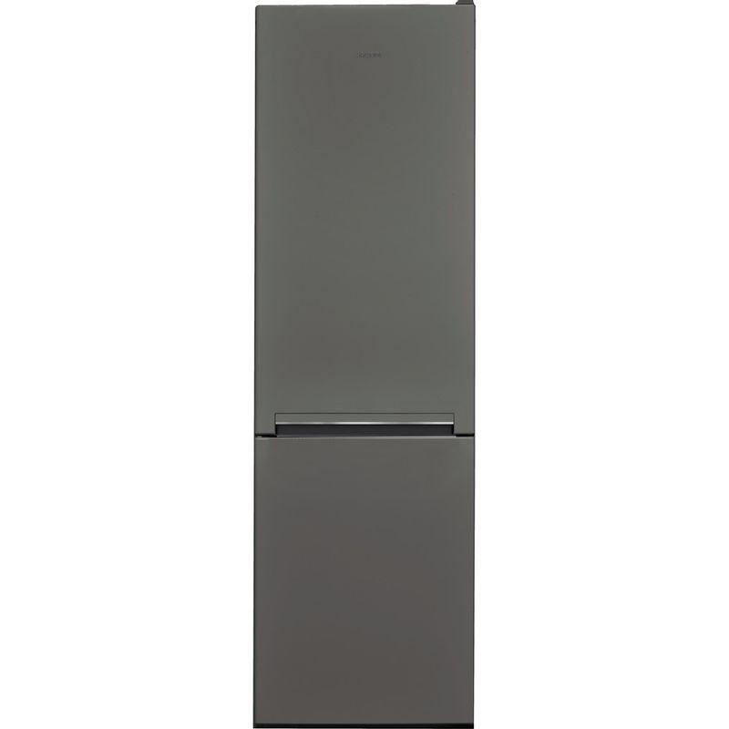 Hotpoint-Fridge-Freezer-Free-standing-H8-A1E-SB-UK-Silver-Black-2-doors-Frontal