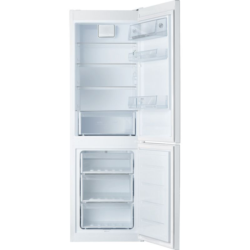 Hotpoint-Fridge-Freezer-Free-standing-H8-A1E-W-WTD-UK-White-2-doors-Frontal-open