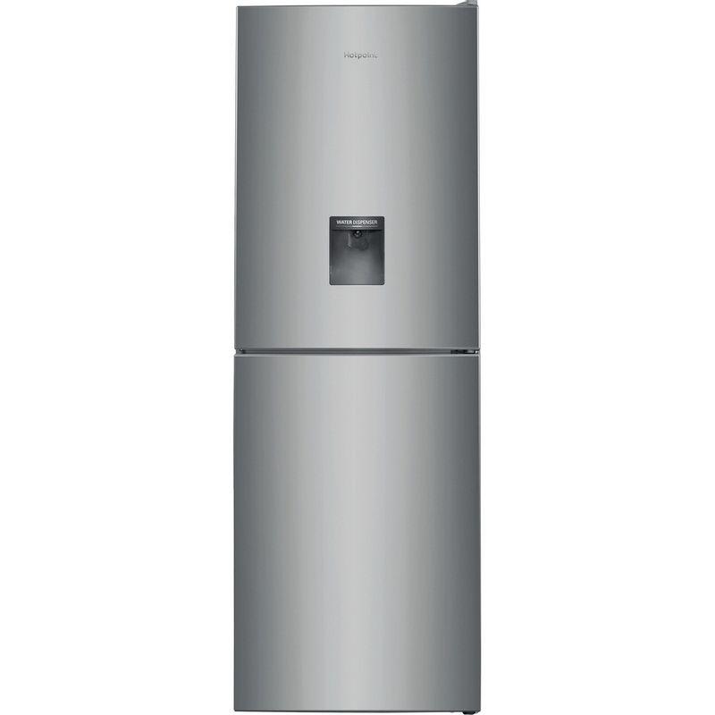 Hotpoint-Fridge-Freezer-Free-standing-XAL85-T1I-G-WTD-Graphite-2-doors-Frontal