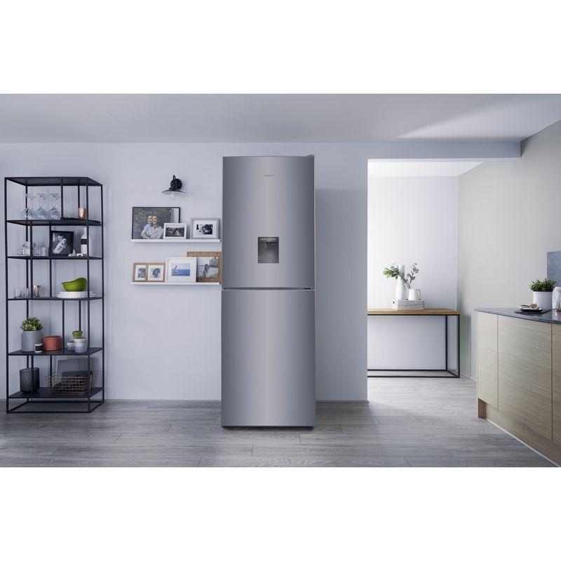 Hotpoint-Fridge-Freezer-Free-standing-XAL85-T1I-G-WTD-Graphite-2-doors-Lifestyle_Frontal