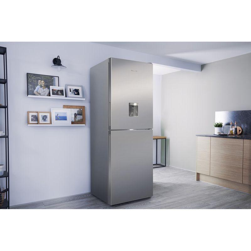 Hotpoint-Fridge-Freezer-Free-standing-XAL85-T1I-G-WTD-Graphite-2-doors-Lifestyle_Perspective