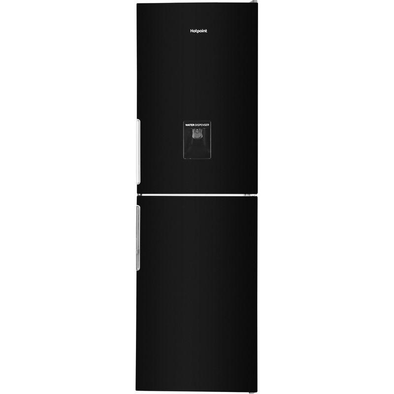 Hotpoint-Fridge-Freezer-Free-standing-XAL85-T1I-K-WTD-Black-2-doors-Frontal