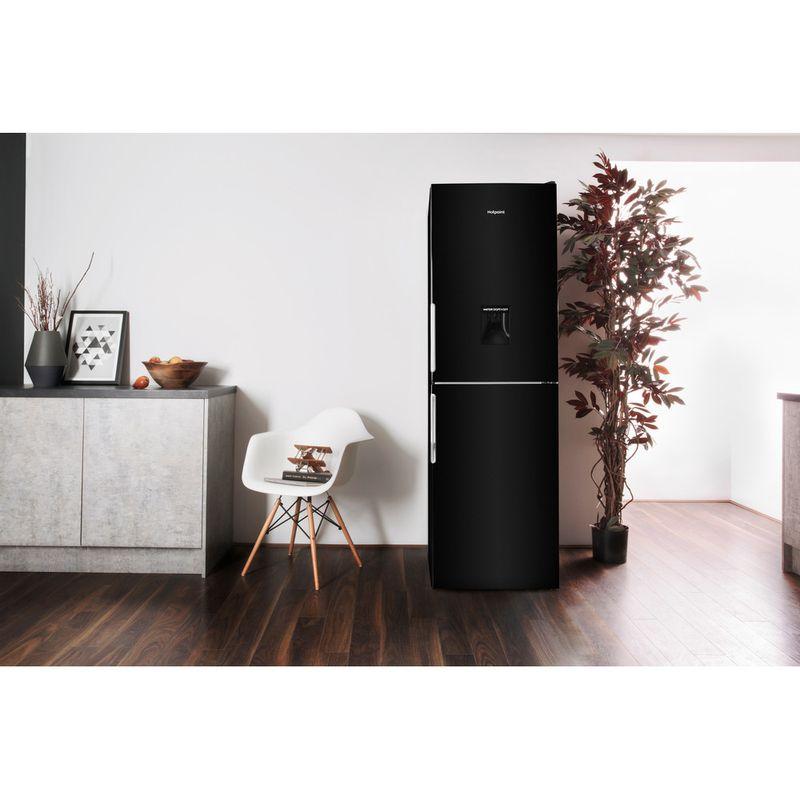 Hotpoint-Fridge-Freezer-Free-standing-XAL85-T1I-K-WTD-Black-2-doors-Lifestyle-frontal