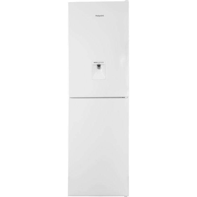 Hotpoint-Fridge-Freezer-Free-standing-XAL85-T1I-W-WTD-White-2-doors-Frontal
