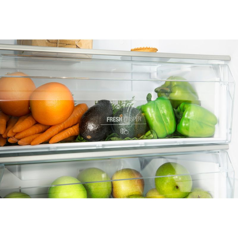 Hotpoint-Fridge-Freezer-Free-standing-XAL85-T1I-W-WTD-White-2-doors-Drawer