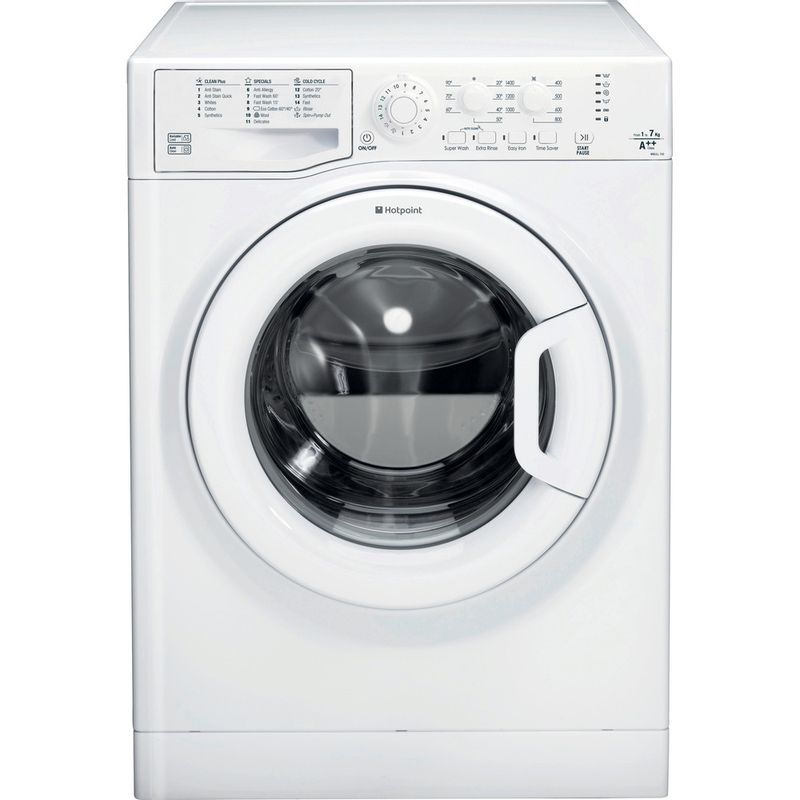 Hotpoint-Washing-machine-Free-standing-WMJLL-742P-UK-White-Front-loader-A---Frontal