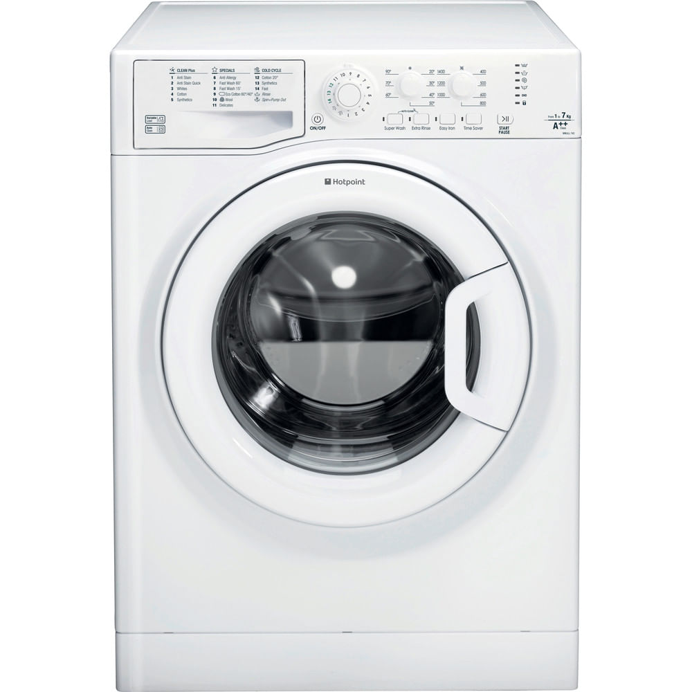 Hotpoint Freestanding Washing Machine WMJLL 742P UK : discover the specifications of our home appliances and bring the innovation into your house and family.