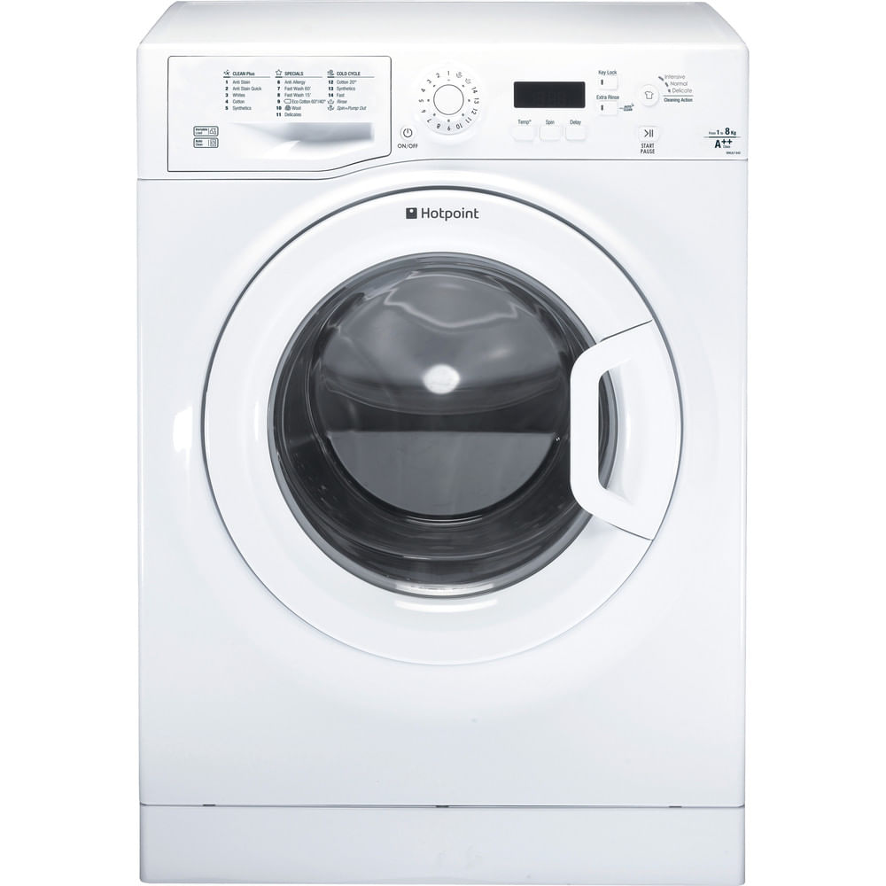 Hotpoint Freestanding Washing Machine WMJLF 842P UK : discover the specifications of our home appliances and bring the innovation into your house and family.