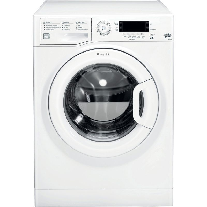 Hotpoint-Washing-machine-Free-standing-WMJLD-943P-UK-White-Front-loader-A----Frontal